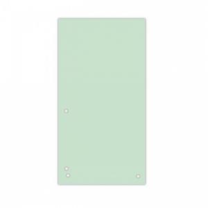 Kartónový rozraďovač DONAU úzky zelený