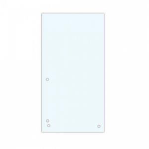 Kartónový rozraďovač DONAU úzky biely