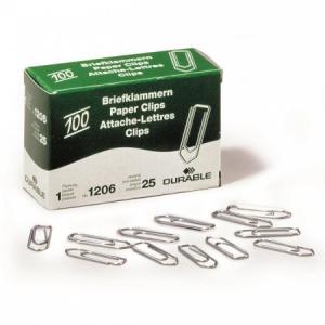 Spisové spony DURABLE 26 mm zinkové 100ks