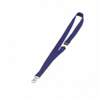 Závesný remienok DURABLE 20 mm so skobou modrý 10ks