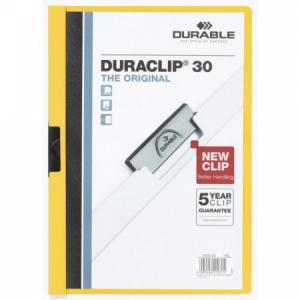 Obal s klipom DURACLIP Original 30 žltý