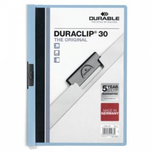 Obal s klipom DURACLIP Original 30 svetlomodrý