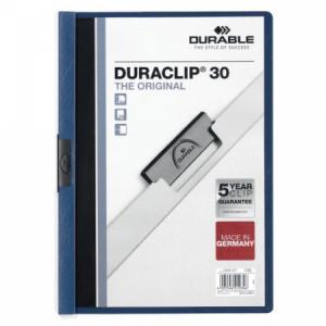 Obal s klipom DURACLIP Original 30 tmavomodrý