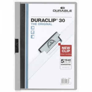 Obal s klipom DURACLIP Original 30 sivý