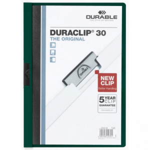 Obal s klipom DURACLIP Original 30 tmavozelený