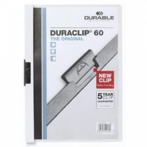 Obal s klipom DURACLIP Original 60 biely