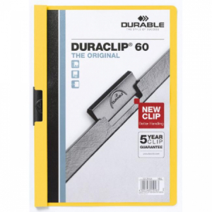 Obal s klipom DURACLIP Original 60 žltý