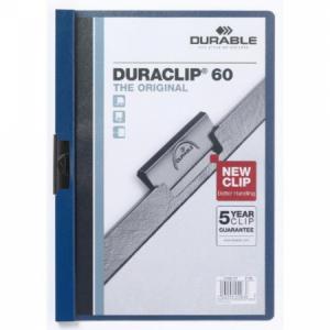 Obal s klipom DURACLIP Original 60 tmavomodrý