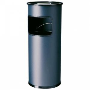 Kôš s vyberateľným zinkovým popolníkom 17l antracitový (SM262691)