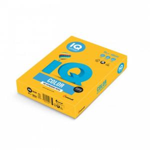 Farebný papier IQ color slnečne žltý SY40, A4 80g