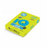 Farebný papier IQ color neónovo zelený NEOGN, A4 80g