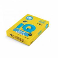 Farebný papier IQ color intenzívne žltý IG50, A4 160g