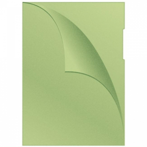 Obal L na dokumenty Q-Connect matný 120mi zelený