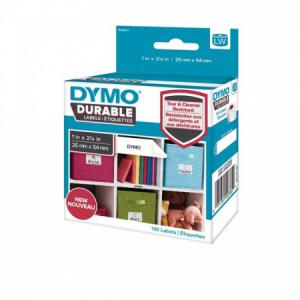 Samolepiace etikety Dymo LW 54x25mm polypropylénové s ochrannou vrstvou 160ks