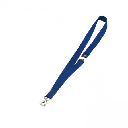 Závesný remienok DURABLE 20mm so skobou modrý 1ks