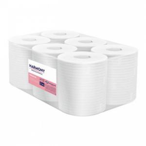 Papierové uteráky v rolke 2-vrstv Harmony Professional Maxi 6ks