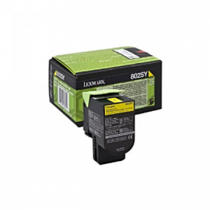 Toner Lexmark 802SY yellow CX310/CX410/CX510