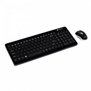 Bezdrôtová klávesnica Canyon CNS-HSETW3-SK optická myš čierna