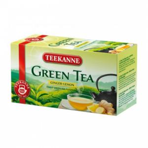 Čaj TEEKANNE zelený Ginger & Lemon 35g