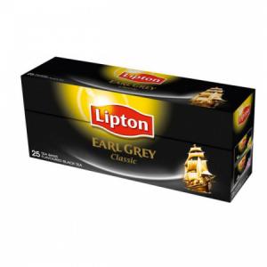 Čaj Lipton čierny Earl Grey 37,5g