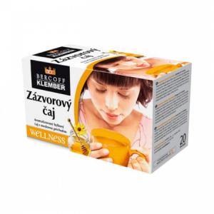 Čaj Klember zázvorový s medom 40g