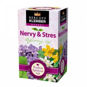 Čaj Klember bylinný Nervy a Stres 30g