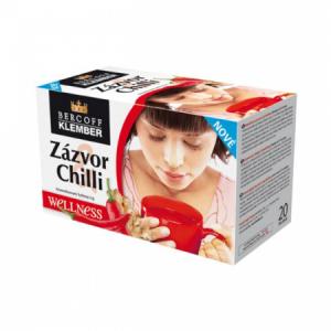 Čaj Klember zázvorový s limetkou a chilli 40g