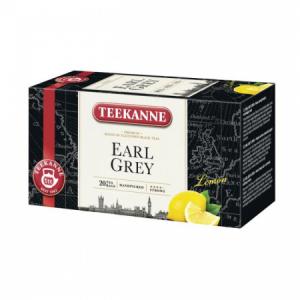 Čaj TEEKANNE čierny Earl Grey Lemon s vitaminom C 33g