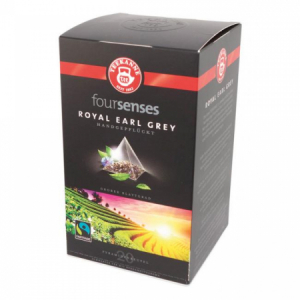Čaj TEEKANNE FOURSENSES Royal Earl Grey Fairtrade 45g