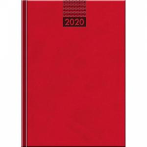 Diár Venetia denný červený 2020