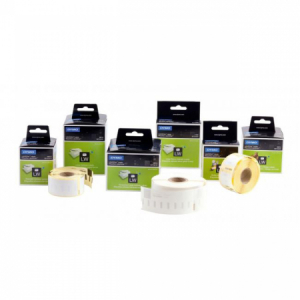 Samolepiace etikety Dymo LW 25x13mm viacúčelové biele
