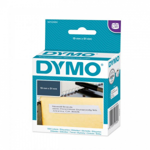 Samolepiace etikety Dymo LW 51x19mm viacúčelové biele