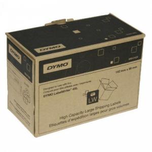 Samolepiace etikety Dymo LW 4XL 102x59 mm veľké expedičné biele