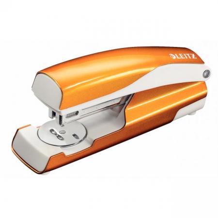 Zošívačka Esselte WOW metalická oranžová
