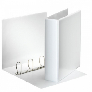 Zakladač prezentačný Esselte 7,7cm 4D-krúžkový biely
