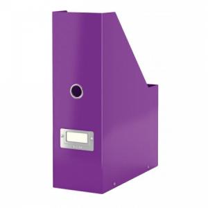 Stojan na časopisy Leitz Click & Store purpurová