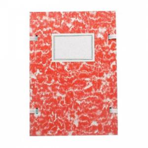 Spisové dosky A4 mramor červený