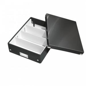 Stredná organizačná škatuľa Click & Store veľkosť M čierna