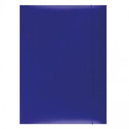Kartónový obal s gumičkou Office Products modrý