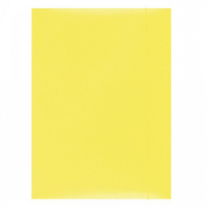 Kartónový obal s gumičkou Office Products žltý