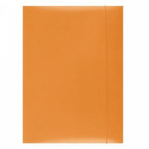 Kartónový obal s gumičkou Office Products oranžový