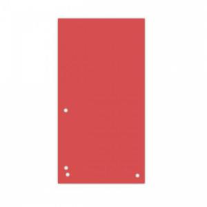 Kartónový rozraďovač DONAU úzky červený
