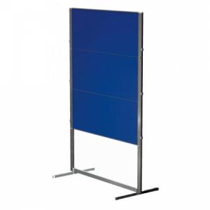 Moderačná tab. plstená skladacia PROFESSIONAL150x120cm modrá