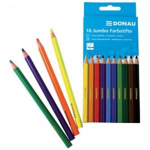 Farbičky Donau Jumbo 10 farebné