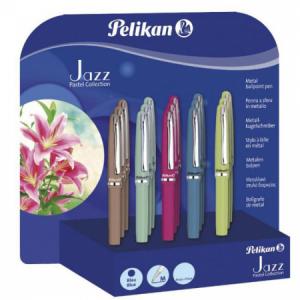 Guľôčkové pero Jazz pastel 15 ks v bal.