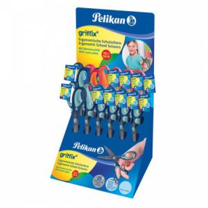 Nožnice Pelikan Griffix Displej 12 ks