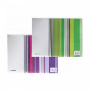 Plastový obal A4 so zipsom DONAU mix dvoch farieb