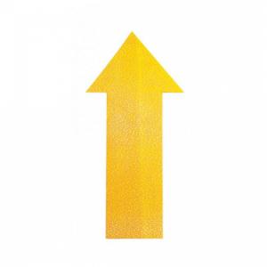 Podlahové značenie ŠÍPKA žlté 10ks