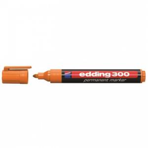 Permanentný popisovač edding 300 oranžový