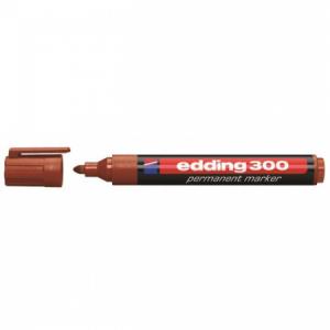 Permanentný popisovač edding 300 hnedý